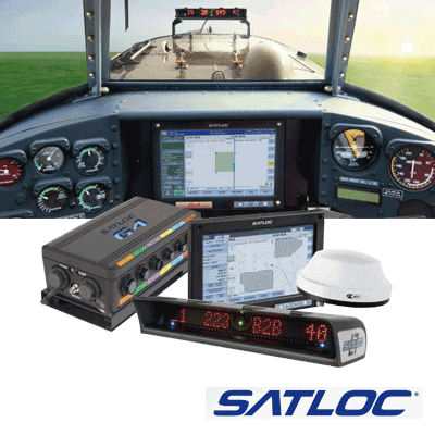 The Satloc G4 is the most complete and advanced aerial guidance system for aerial applicators. It delivers web-based connectivity along with a high-level of guidance performance. It makes aerial application more efficient and brings a higher quality of service.