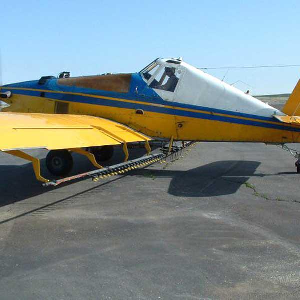kindersley airspray plane