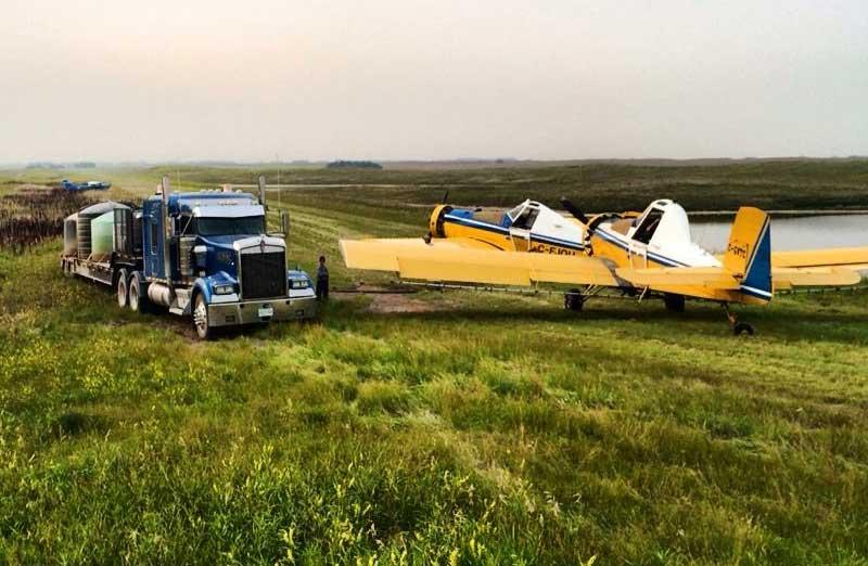 kindersley airspray mobile rigs