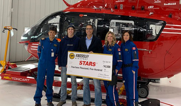 kindersley airspray stars donation