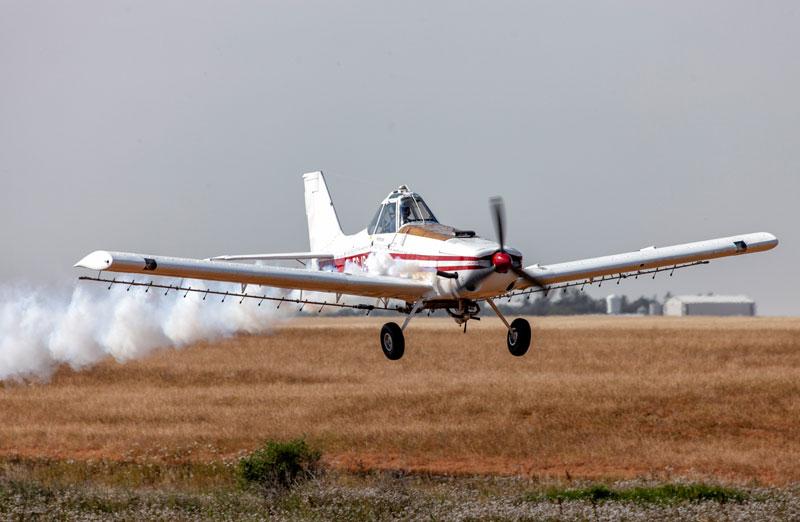aerial pesticide application
